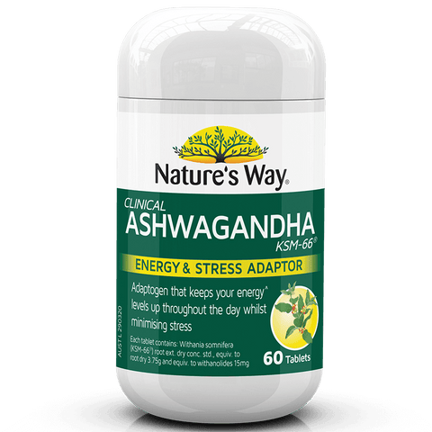 Nature's Way | Ashwagandha | 60 Capsules