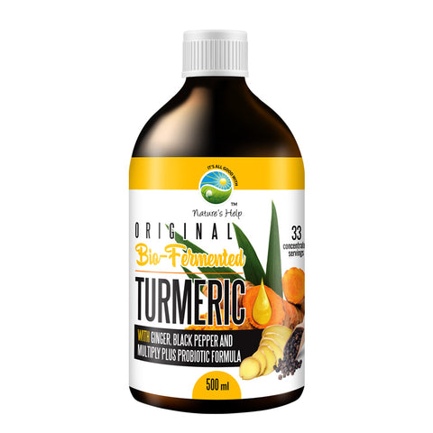 Original Bio-Fermented Turmeric | Ginger | Black Pepper | 500ml