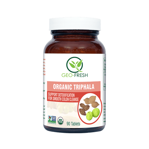 Triphala Tablets- Organic 600mg