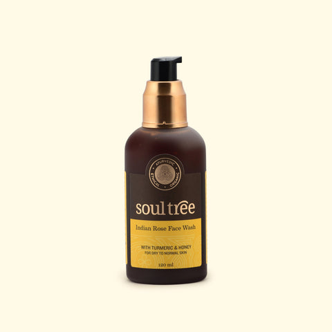 SoulTree | Indian Rose Face Wash with Turmeric & Honey