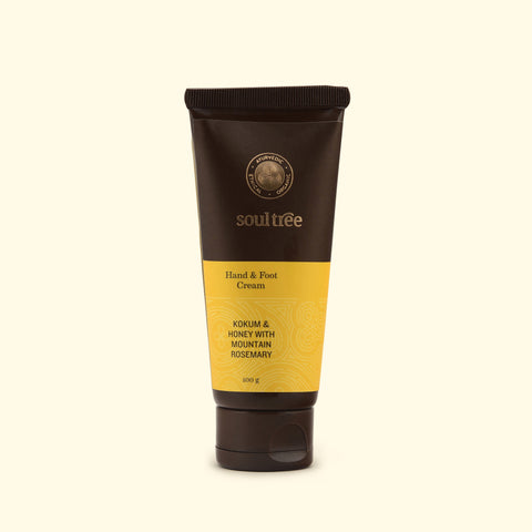 SoulTree | Hand & Foot Cream - Kokum & Honey with Mountain Rosemary