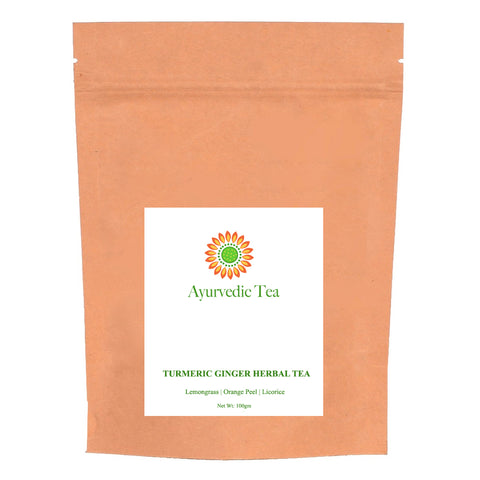 Turmeric Ginger Herbal Tea | Loose | 100gm
