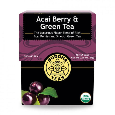 Organic Acai Berries Green Tea