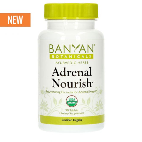 Adrenal Nourish™ tablets - Certified Organic