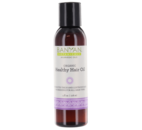 Healthy Hair Oil - Certified Organic