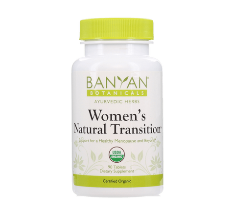 Women's Natural Transition - Certified Organic