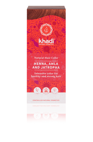 Khadi | Herbal Hair Colour | Henna, Amla & Jatropha