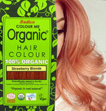 Radico | Organic Hair Colour | Strawberry Blonde | USDA Organic | 100gm