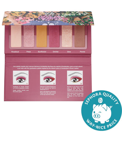 Sephora collection #eyestories fresh florals eyeshadow palette - EyeSeeHue