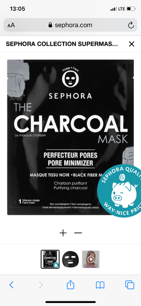 Sephora collection the charcoal mask - EyeSeeHue