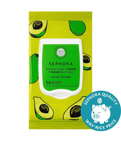 Sephora collection 1 minute face masks (avocado) - EyeSeeHue