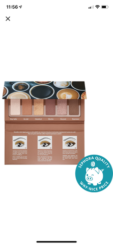 Sephora collection #eyestories miniature eye palettes - EyeSeeHue