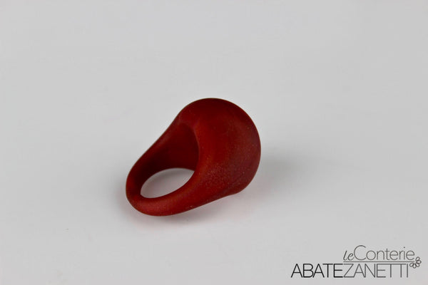 Anello Simply Rosso Opaco