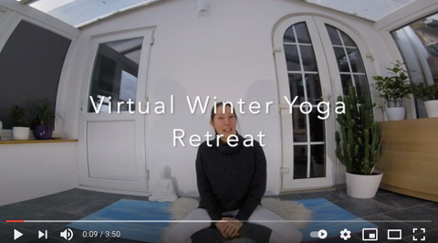 At-Home Winter Yoga Retreat - A Weekend of Self Care