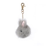 Mink Fur Charm Rabbit
