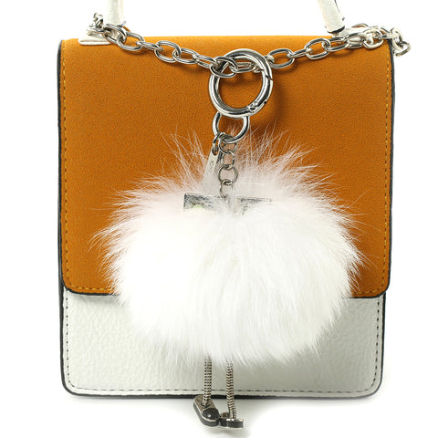 Fox Fur Charm and Keychain