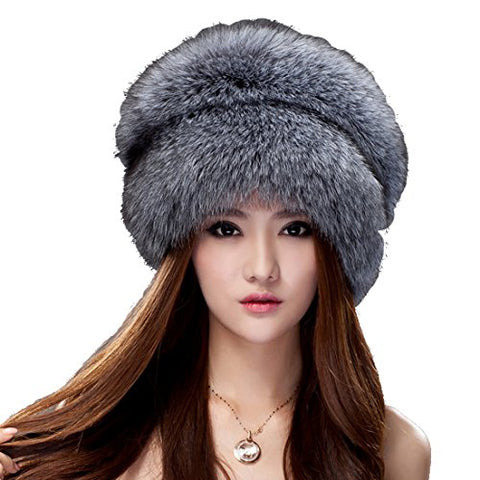 URSFUR Women Autumn Winter Beanies Elastic Knitted Wool Cotton Hats Multicolor