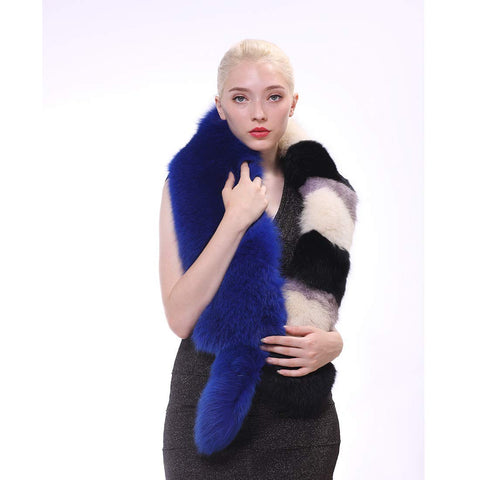 Women Winter Fur Scarf