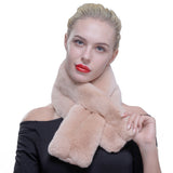 Authentic Rex Rabbit Fur Pull Through Scarf