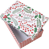 Merry Christmas design gift box. The Little Owl's Nest Children's Clothing