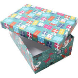 Christmas presents design gift box. The Little Owl's Nest Children's Clothing