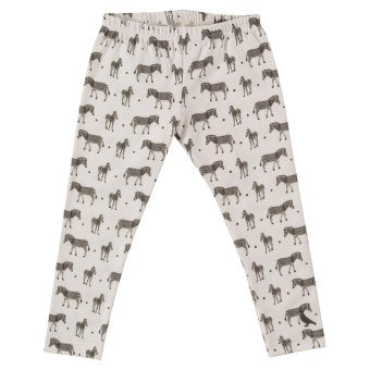 Zebra printed Leggings. The Little Owl's Nest Children's Clothing