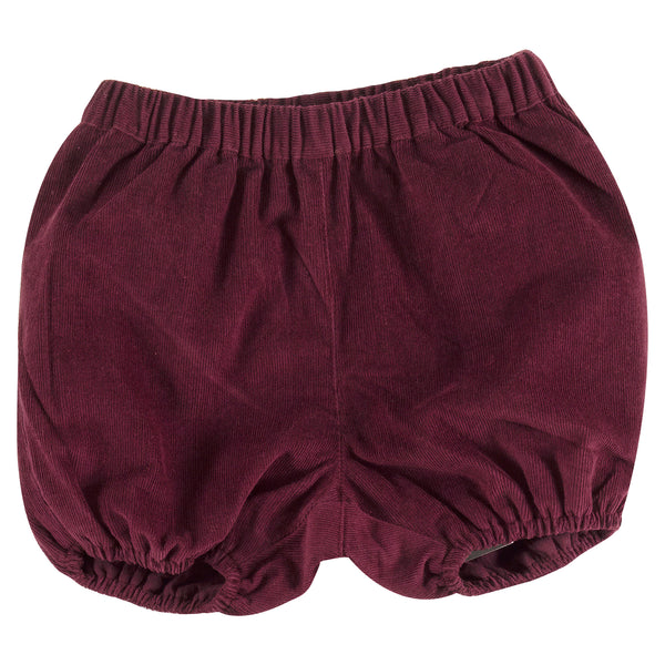 Fig Corduroy Bloomers. The Little Owl's Nest Children's Clothing