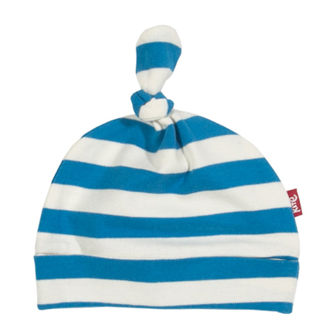 Blue and white stripy hat from Kite Clothing at The Little Owls Nest.