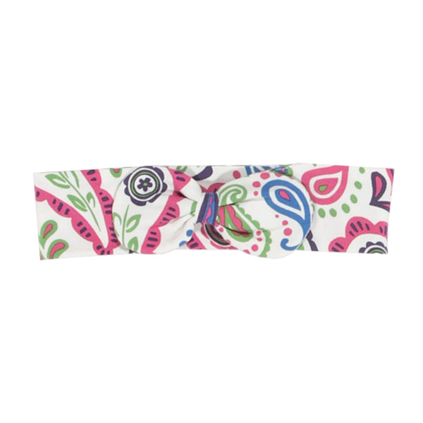 Paisley pattern cream bowband from Kite Clothing at The Little Owls Nest.