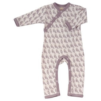 Owl Print Romper. The Little Owl's Nest Children's Clothing