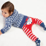 Reindeer Leggings. The Little Owl's Nest Children's Clothing