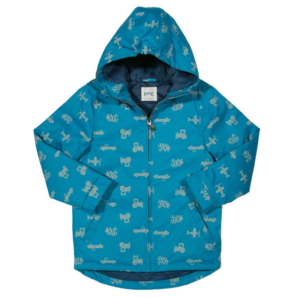 Transport Showerproof Coat. The Little Owl's Nest Children's Clothing