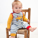 Off Road Dungarees. The Little Owl's Nest Children's Clothing