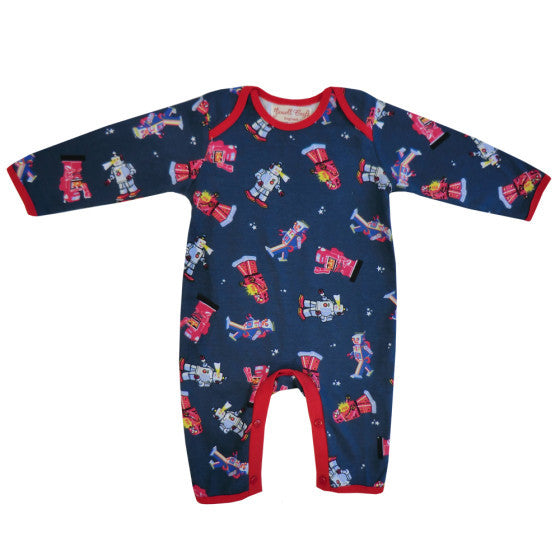 Robot print romper from Powell Craft at The Little Owls Nest.