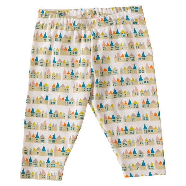 House print capri length Leggings. The Little Owl's Nest Children's Clothing