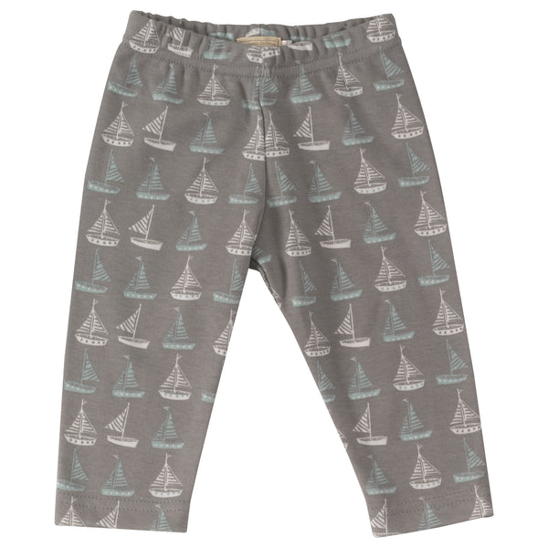 Sail Boat Leggings. The Little Owl's Nest Children's Clothing