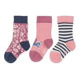 Girls 3pk Socks in a Box. The Little Owl's Nest Children's Clothing
