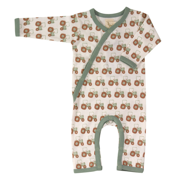 Tractor Romper. The Little Owl's Nest Children's Clothing