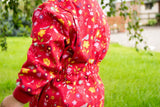 Flower Meadow Boilersuit. The Little Owl's Nest Children's Clothing