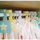 Sweet Dreams Wardrobe Dividers. The Little Owl's Nest Children's Clothing