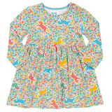 Pretty Pony Dress. The Little Owl's Nest Children's Clothing