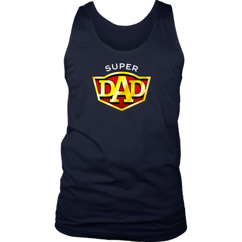 SUPERDAD WORKOUT SINGLET