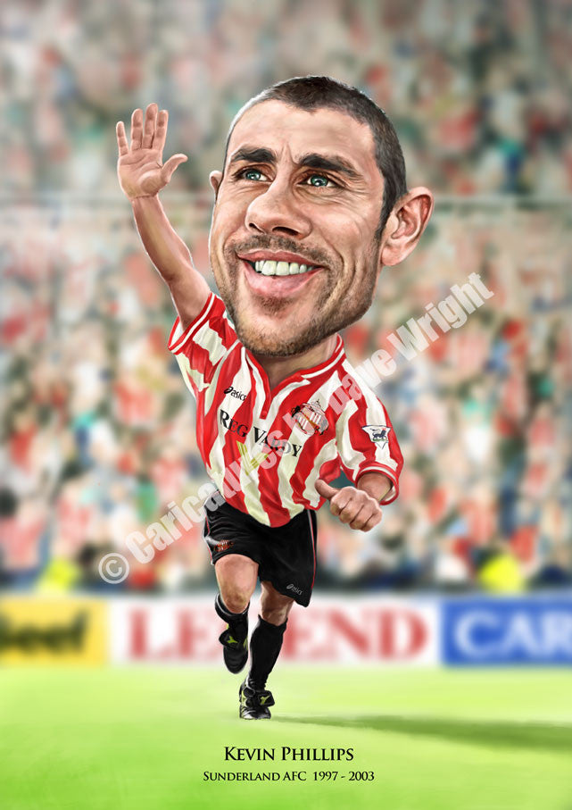 Caricaturing Kevin Phillips
