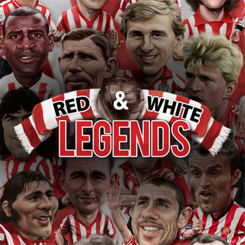 Red & White Legends (Sunderland AFC prints and merchandise)