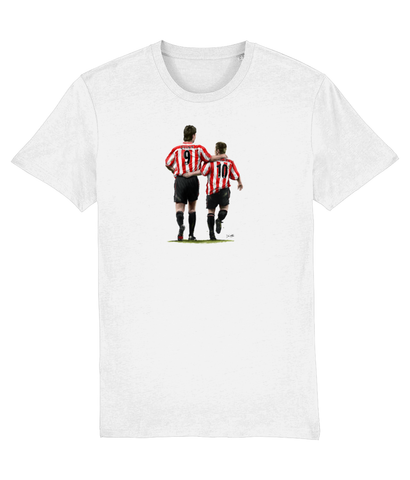 'The Perfect Match' Quinn and Phillips (Sunderland AFC) T-shirt