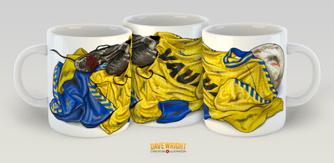 Copy of All the kit - Hummel 88-91 third kit (Sunderland AFC) mug - by Dave Wright