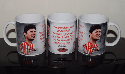 Niall Quinn, Red & White Legends (Sunderland AFC) Caricature Mug
