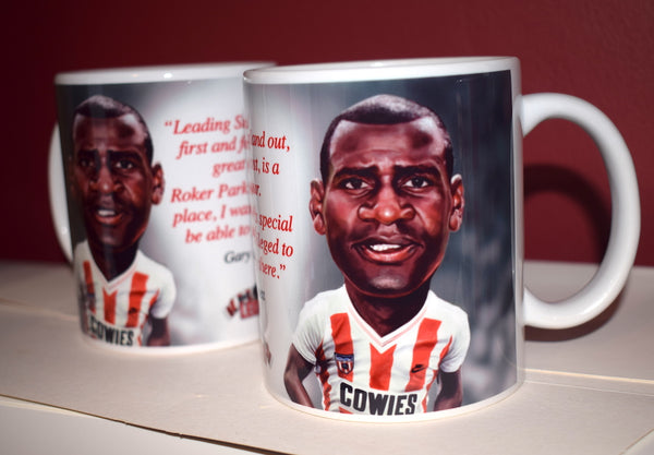 Copy of CLEARANCE - SLIGHT SECONDS Gary Bennett, (Sunderland AFC) Caricature Mug