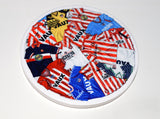 Sunderland - 'Classic kits of the 80s and 90s' Ceramic drinks coaster.
