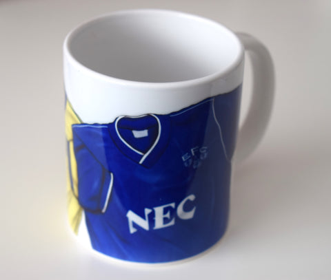 CLEARANCE - SLIGHT SECONDS  - The League Champions (Everton FC) Caricature Mug